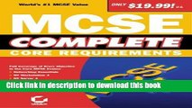 Read McSe Complete: Core Requirements by Sybex Inc (1999) Paperback Ebook Free