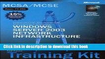 Read MCSE Self Paced Training Kit Exams 70-290, 70-291, 70-293, 70-294 Microsoft Windows Server