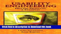 Read PDF] Usability Engineering: Process, Products Examples