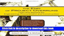 [PDF] The End of Project Overruns: Lean and Beyond for Engineering, Procurement and Construction