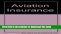 [PDF]  Aviation Insurance: The Law and Practice of Aviation Insurance, Including Hovercraft and