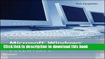 Download Microsoft Windows Operating System Essentials PDF Online