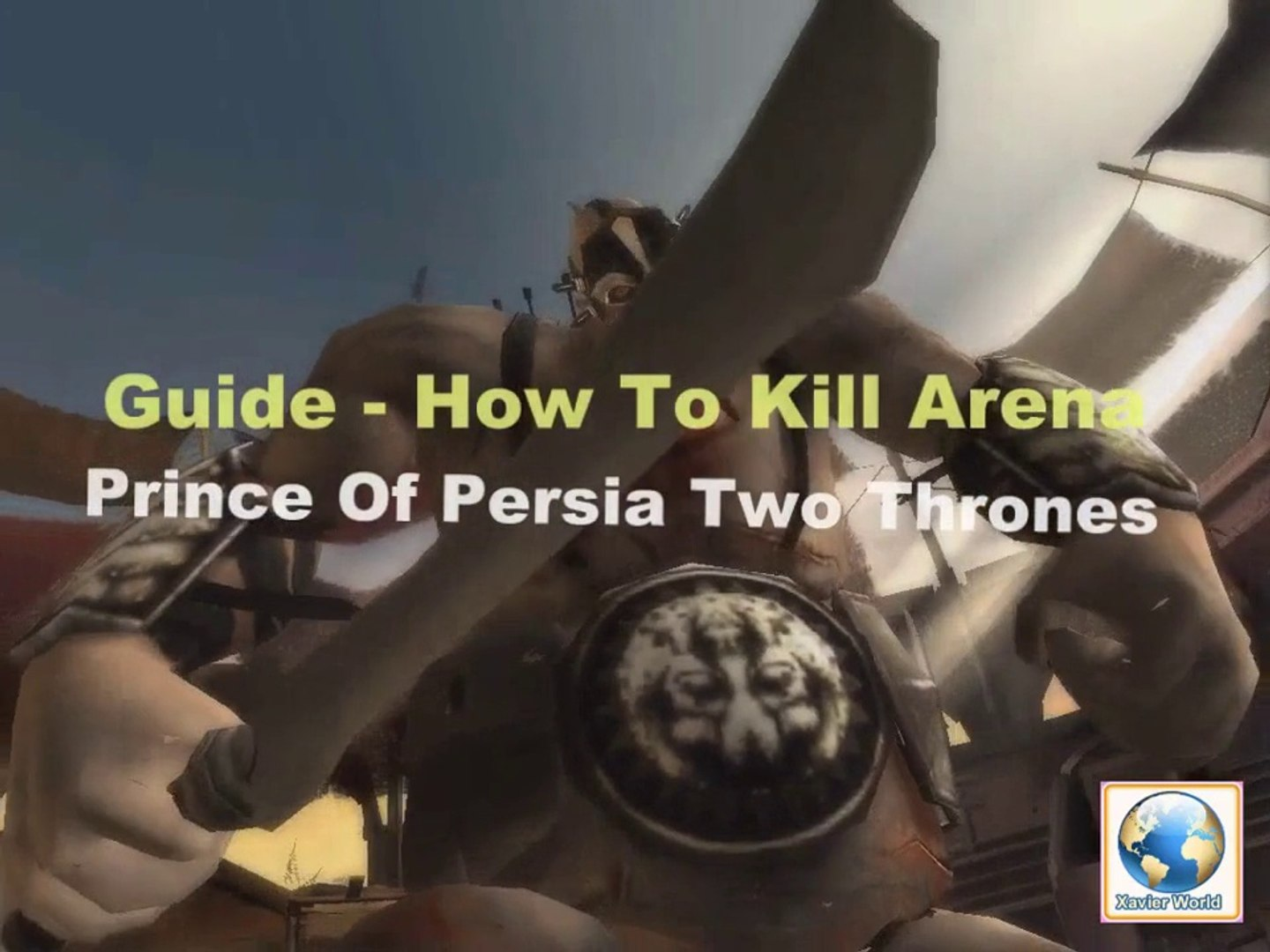 Prince Of Persia How To kill Arena The Two thrones