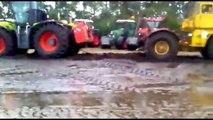 amazing videos compilation of heavy equipment, army tank vs tractor - monster trucks vs trucks[1]
