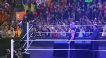 Wwe Raw 25 July 2016 Brock Lesnar Return but is surprised by the return of The Undertaker Full HD