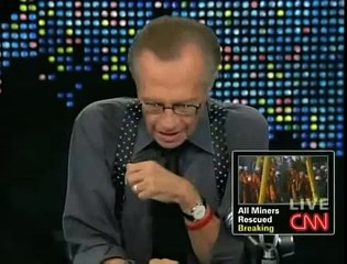 Michael Moore on Larry King Live (Part 5) - 10/13/10