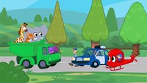 Morphle kids videos compilation with cars (1)