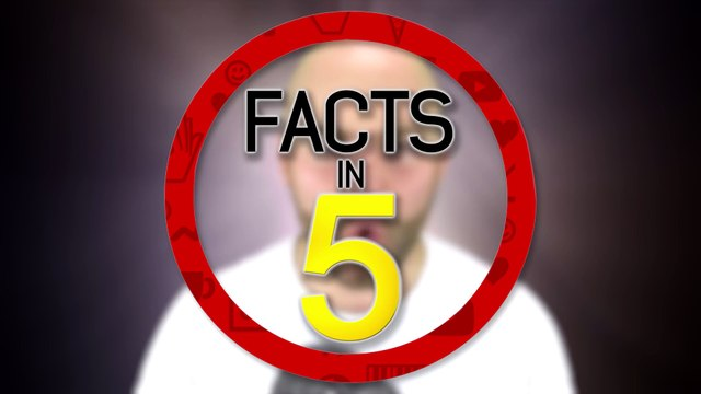 AMAZING Facts You Never Knew About GHOSTS!-Facts in 5