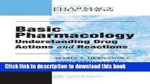 [PDF]  Basic Pharmacology: Understanding Drug Actions and Reactions  [Download] Online