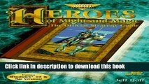 Read Heroes of Might   Magic: The Official Strategy Guide (Secrets of the Games Series) Ebook Free