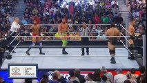 Zack Ryder and Darren Young (w/ Bob Backlund) vs. The Miz and Rusev