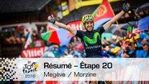 Résumé - Étape 20 (Megève / Morzine) - Tour de France 2016
