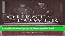 Download Books Quest for Power: European Imperialism and the Making of Chinese Statecraft PDF Online