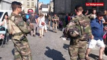 Quimper. Sécurisation. 30 militaires déployés sur le Cornouaille