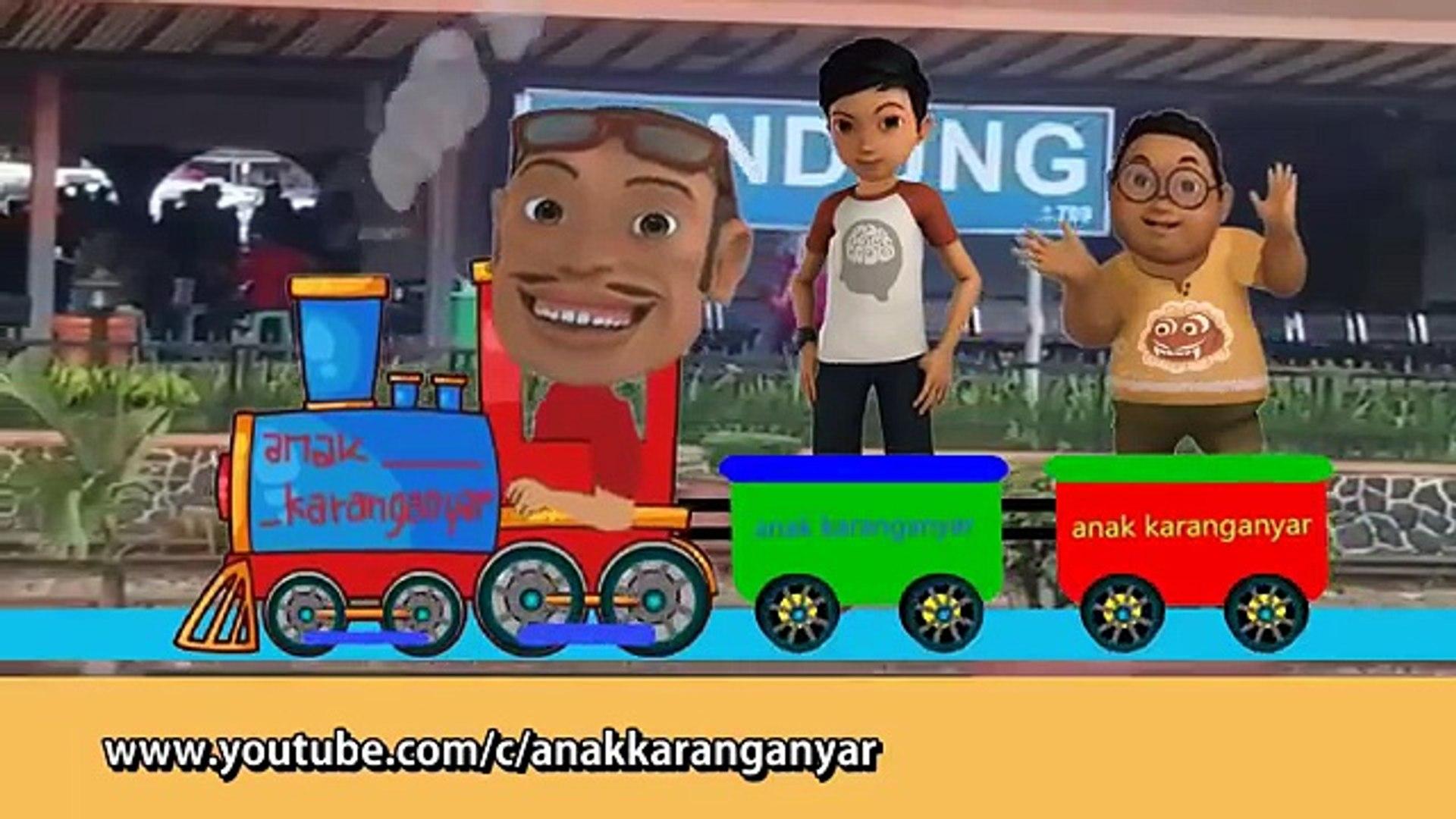 Adit & Sopo Jarwo ✰ Naik Kereta Api Tut Tut Tut ✰ Cover Lagu Anak Indonesia Populer