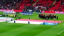 Himno Nacional Chileno (Inglaterra 0-2 Chile, 15 de Noviembre 2013)