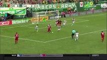 Valentin Goal HD - Portland Timbers 1-2 LA Galaxy - 23.07.2016 MLS