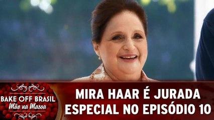 Mira Haar é jurada especial no episódio 10