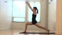 WEIGHT LOSS YOGA IN 30 MINUTES PART 1 OF 4  CORE WARM UP AND SALUTATIONS