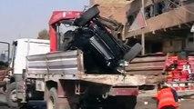 55 Killed In Iraq Car Bombs Rattle Baghdad - Ten Car Bombs Blast Across Baghdad