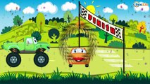 Racing Cars - New Track, Extreme Speed and Crazy Race. Cars & Trucks Cartoons for children