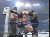Undertaker & Batista Vs Mark Henry & The Great Khali