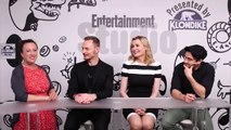 Alfonso Herrera, Ben Daniels & Geena Davis at Comic-Con San Diego 2016 (Interview EW)