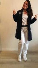 Tenue vestimentaire JO - Sandie Clair