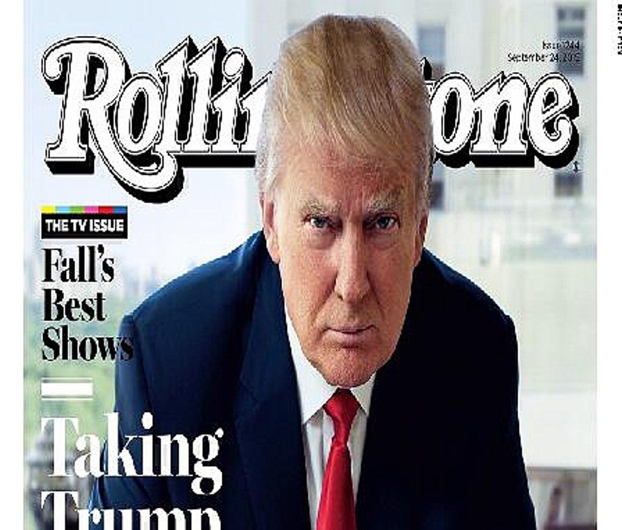 Rolling Stones Donald Trump