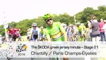 The ŠKODA green jersey minute - Stage 21 (Chantilly / Paris Champs-Élysées) - Tour de France 2016