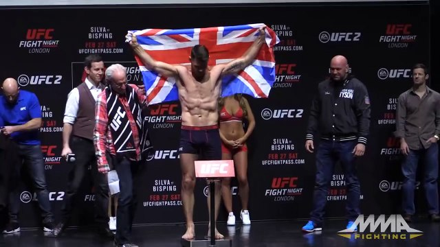 UFC Fight Night 84 Weigh-Ins: Anderson Silva vs. Michael Bisping