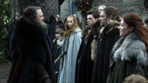 Game of Thrones S01e01 Eddard Stark and Robert Baratheon you got fat