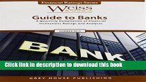 Read Books Weiss Ratings  Guide to Banks Summer 2013 (Weiss Ratings Guide to Banks and Thrifts)
