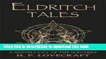 Download Eldritch Tales PDF Free
