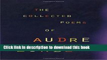 Read The Collected Poems of Audre Lorde PDF Free