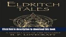 Read Eldritch Tales  Ebook Free
