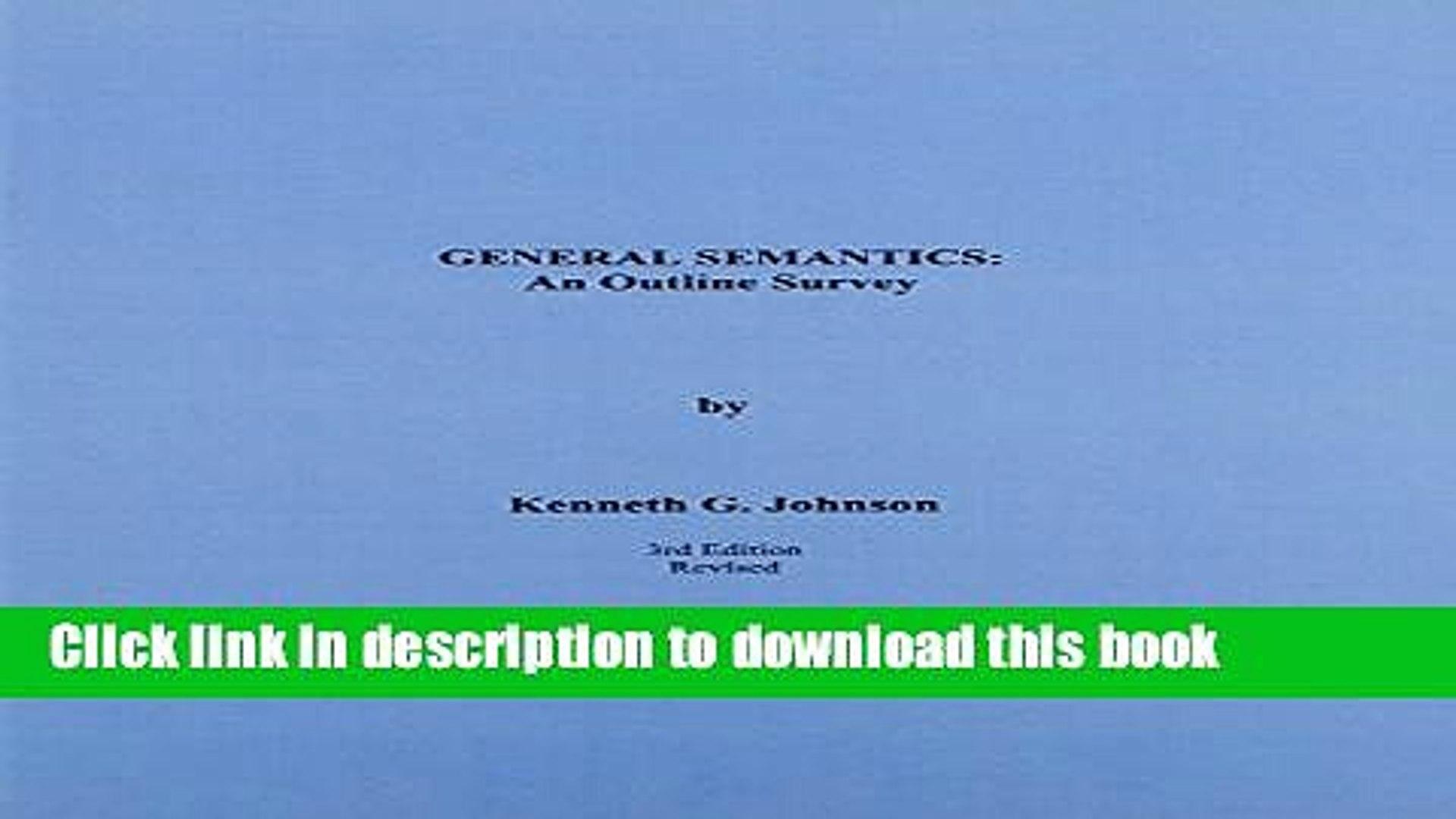 Drive Yourself Sane Third Edition. Using the Uncommon Sense of General Semantics