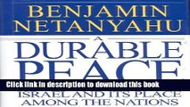 PDF A Durable Peace: Israel and its Place Among the Nations  EBook