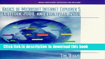 Download Basics of Microsoft Internet Explorer 5, Outlook 2000 and FrontPage 2000 PDF Free