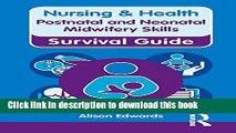 [PDF]  Nursing   Health Survival Guide: Postnatal   Neonatal Midwifery Skills (Nursing and Health
