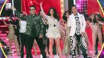 Jhalak Dikhhla Jaa 9 Contestants In Comedy Nights Bachao   Arjun Bijlani, Karishma Tanna