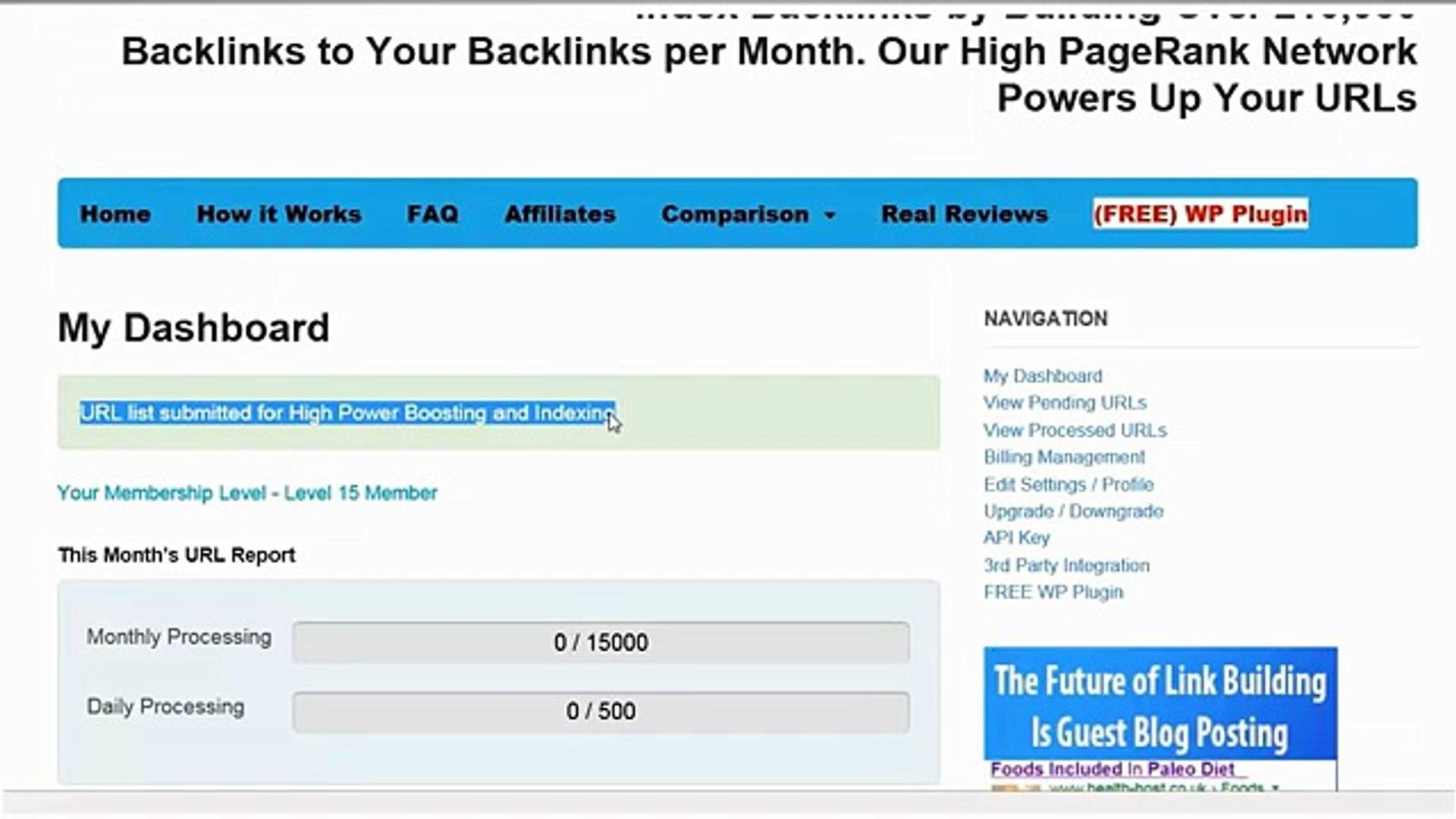 Backlink Indexer Service | Dan Anton