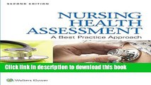 [PDF]  Lippincott CoursePoint for Jensen s Nursing Health Assessment with Print Textbook Package