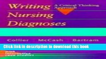 READ] EBOOK Critical Thinking and Nursing Diagnoses: Case Studies