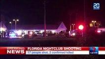 Fusillade dans une boîte de nuit en Floride