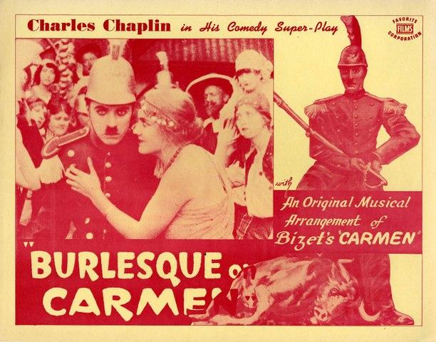 Chaplin - Burlesque of Carmen 1915