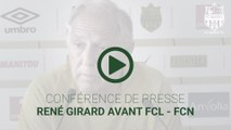 René Girard avant FC Lorient - FC Nantes