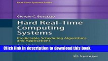 Read Hard Real-Time Computing Systems: Predictable Scheduling Algorithms and Applications