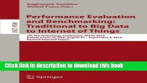 Read Performance Evaluation and Benchmarking: Traditional to Big Data to Internet of Things: 7th