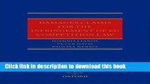 [PDF]  Damages Claims for the Infringement of EU Competition Law  [Download] Online